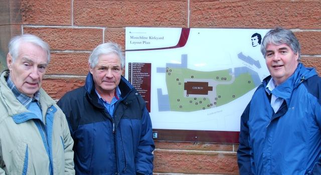 Mauchline Kirkyard plan
