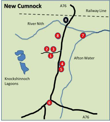 New Cumnock Village Heritage Trail - Interpretation Sites