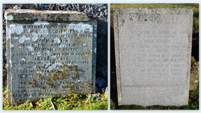 Two Paterson Headstones