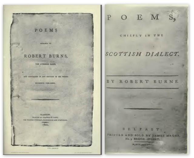 The Burns Exhibition Catalogue 1896