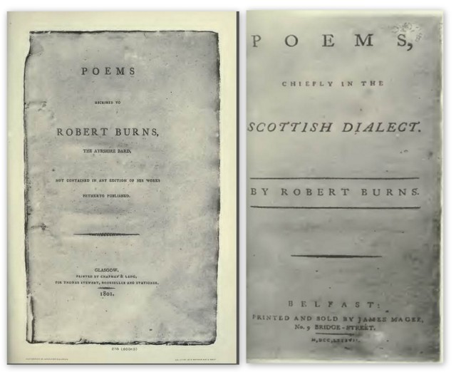 The Burns Exhibition Catalogue 1896